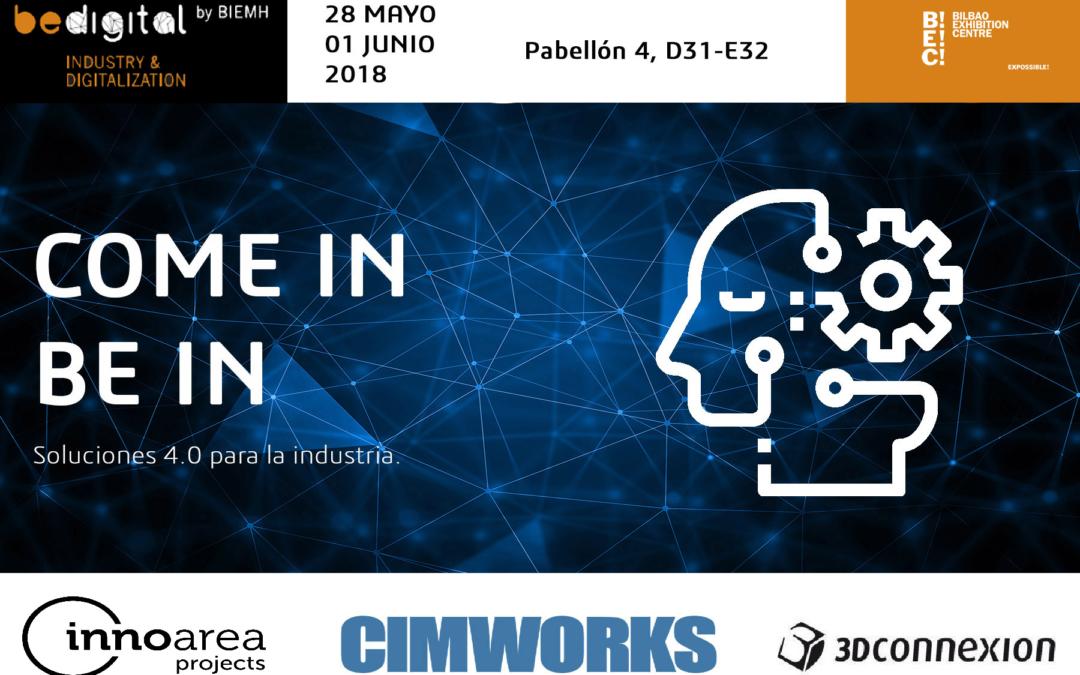 CIMWORKS en BeDigital by BIEMH, ayudará a las empresas del sector a digitalizar su departamento de ingeniería