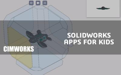 ¿Hasta dónde puede llegar la imaginación de un niño? SOLIDWORKS Apps For Kids