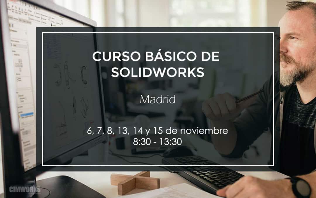 Curso básico de SOLIDWORKS | Madrid