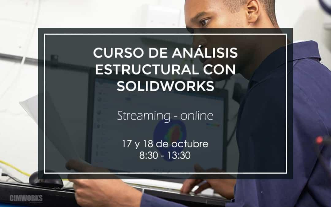 Curso de análisis estructural con SOLIDWORKS | Streaming
