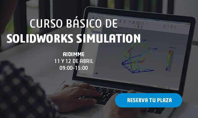 Curso de Simulación básico con SOLIDWORKS Simulation Premium