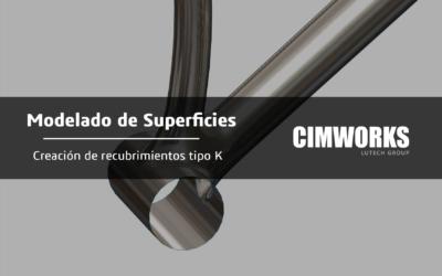 Modelado de Superficies con SOLIDWORKS- Creación de recubrimientos de tipo K