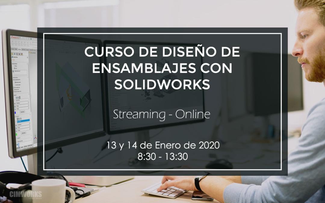 Curso de diseño de ensamblajes con SOLIDWORKS | Barcelona
