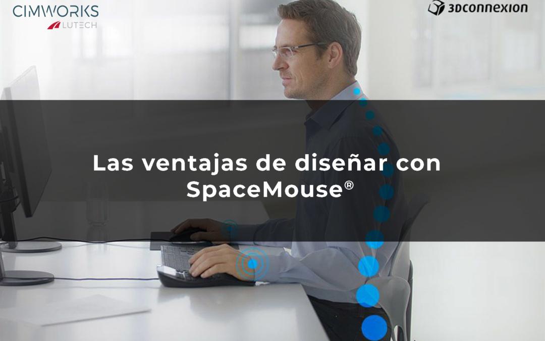 ¿Sabes cuáles son las ventajas ergonómicas de trabajar con un CADMouse 3D como SpaceMouse® de 3DConnexion?