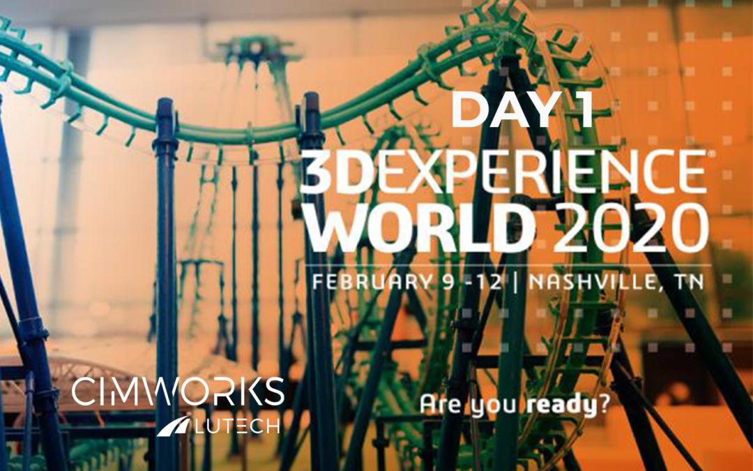 3D Experience World 2020 | Día 1