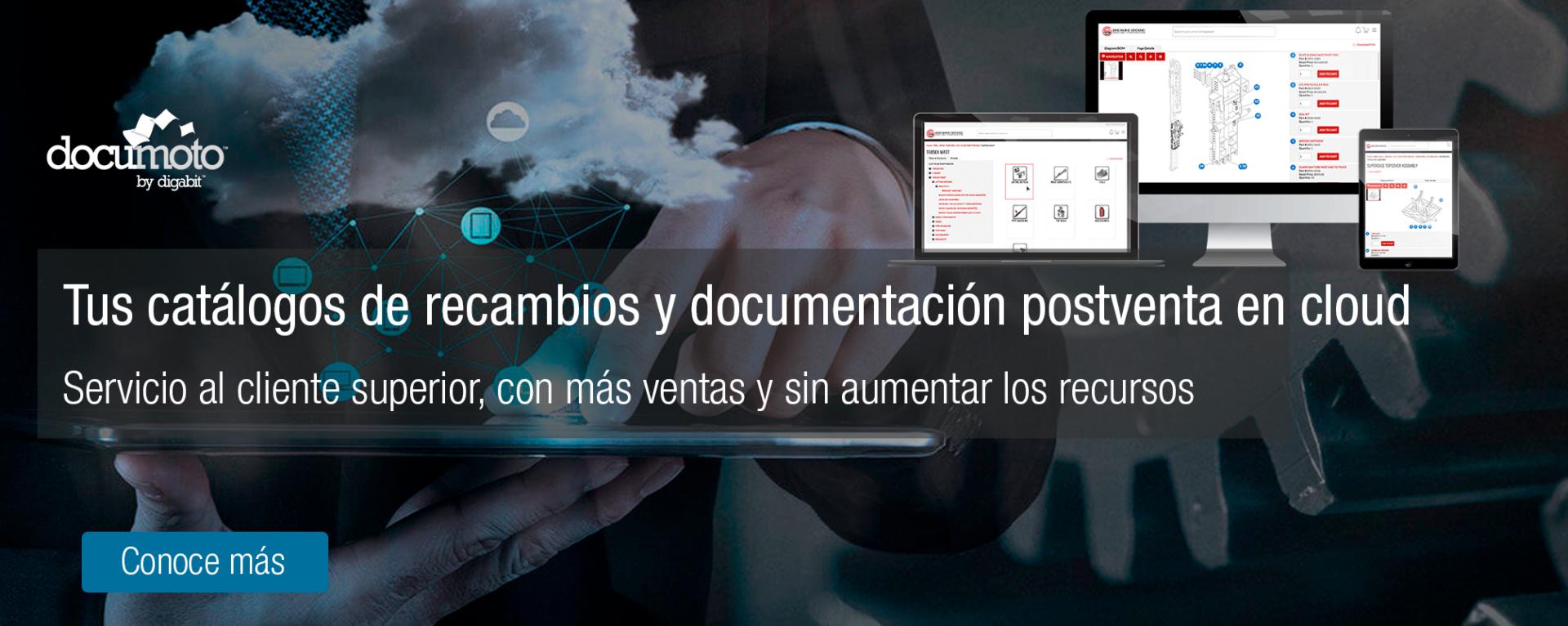 Documoto, Documentación Servicio Postventa, Catálogos de Recambios y venta On-line; por CimWorks
