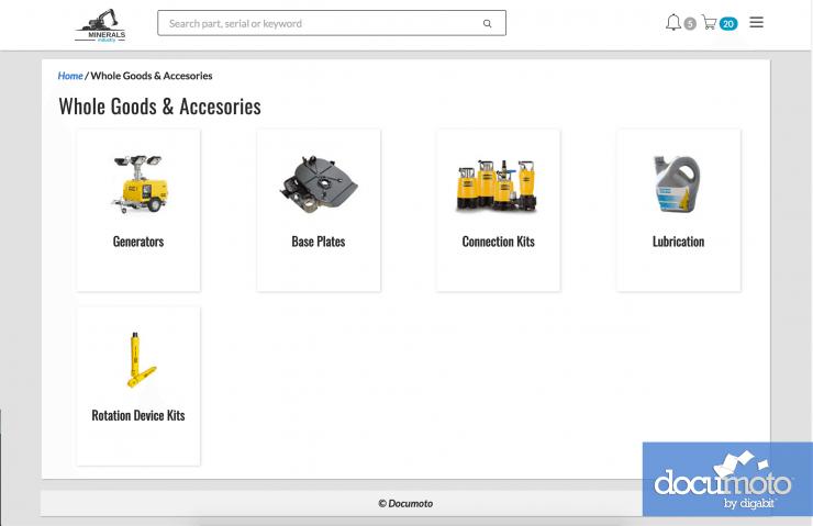 Documoto ofrece eCommerce de recambios integrado con ERP, por Cimworks