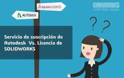 Servicio de Suscripción de Autodesk vs. Licencias de SOLIDWORKS