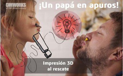 ¡Un papá en apuros! | Scan e impresión 3D al rescate